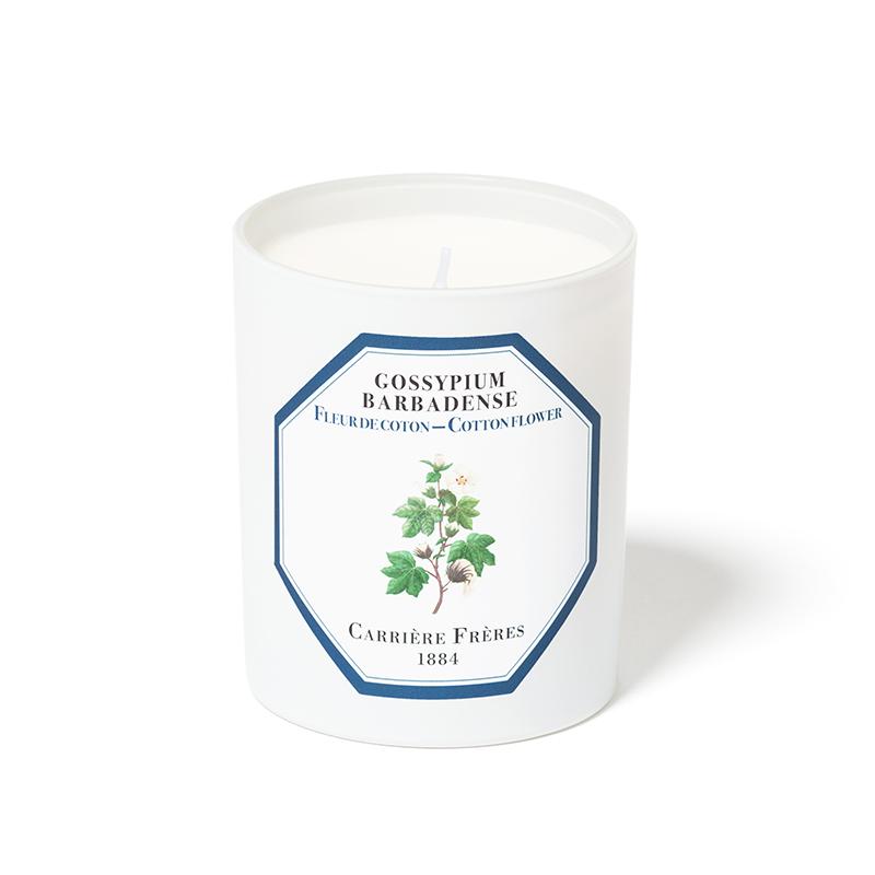 Nến Thơm Carrière Frères Nến Thơm Hương Hoa Bông Candle Cotton Flower 185gr