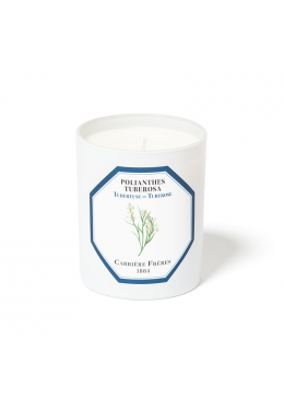 Candle Carrière Frères Candle Tuberose 185gr