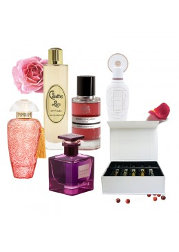 Perfume Discovery Set L'Apothiquaire Artisan Beaute A Queen's Scent: Rose Fragrances Collection