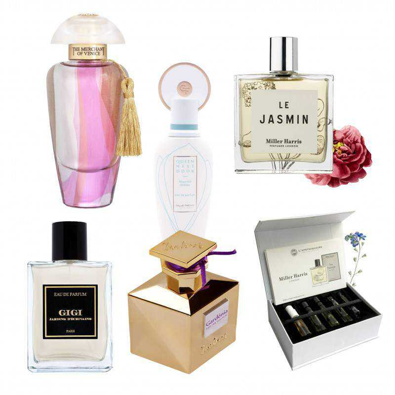 A Bouquet of Flowers: Soft Floral Perfume Collection
