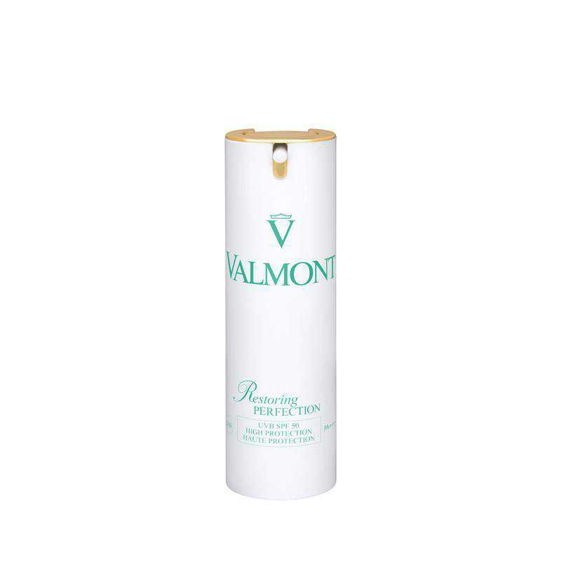 Natural Skin Care Valmont Cosmetics Restoring Perfection SPF 50 High protection anti-aging cream 30ml