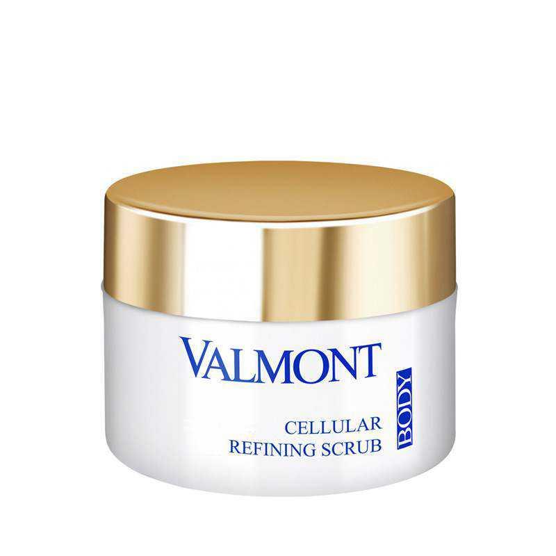 Natural Bath & Body Care Valmont Cosmetics Cellular Refining Scrub Nourishing exfoliating cream 200ml