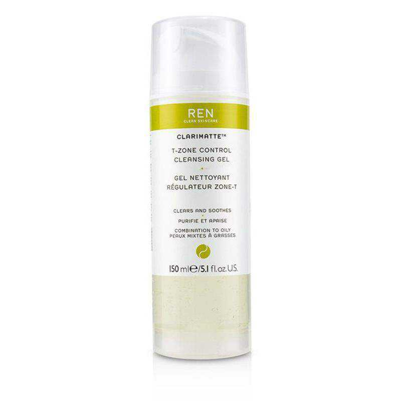 Natural Skin Care REN Clarimatte T-Zone Control Cleansing Gel 50ml