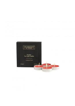 Nến Thơm Và Phụ Kiện The Merchant of Venice Nến Thơm Tea Light Candles 4x19 gr