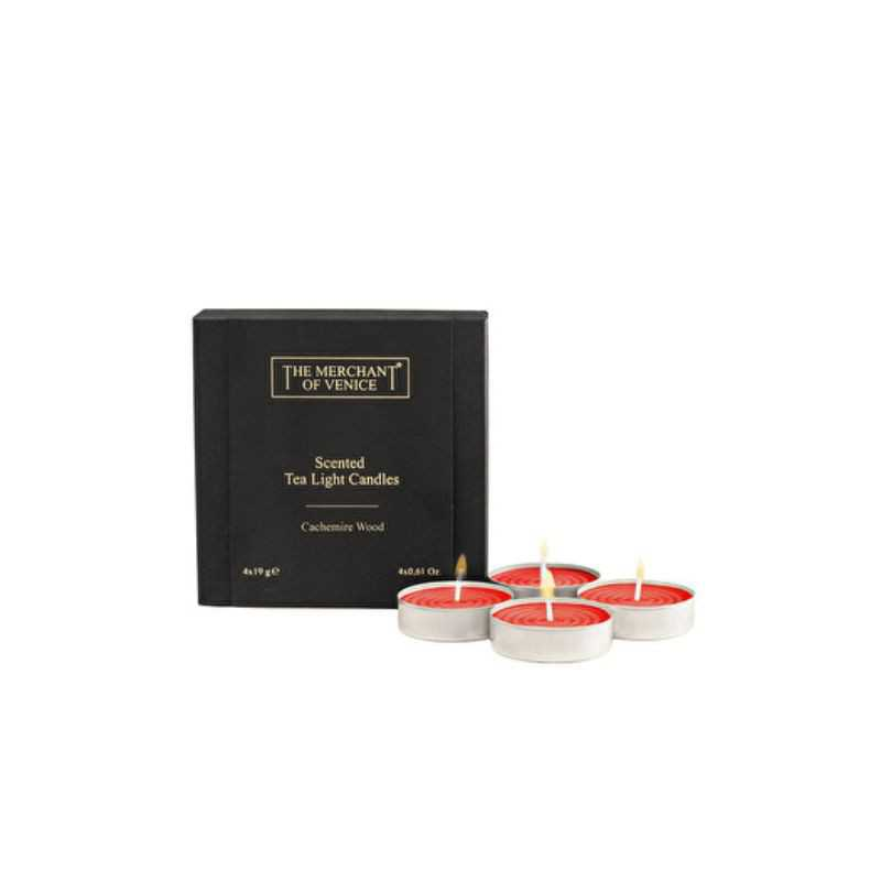 Candles & Home The Merchant of Venice Scented Tea Light Candles 4x19 gr