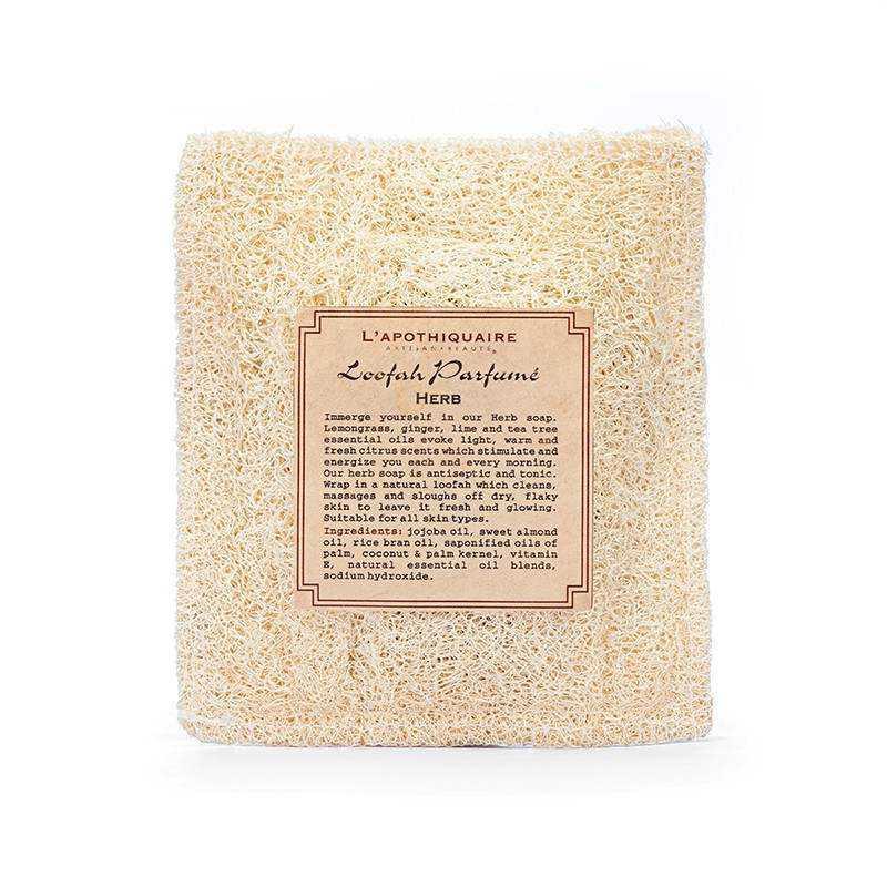 Body Wash & Gel L'Apothiquaire Artisan Beaute Loofah Squaire Bag 80gr