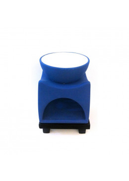 Candles & Home L'Apothiquaire Artisan Beaute Oil Burner Black/Blue