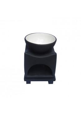 Nến Thơm Và Phụ Kiện L'Apothiquaire Artisan Beaute Bình Đốt Tinh Dầu Oil Burner Xanh/Đen