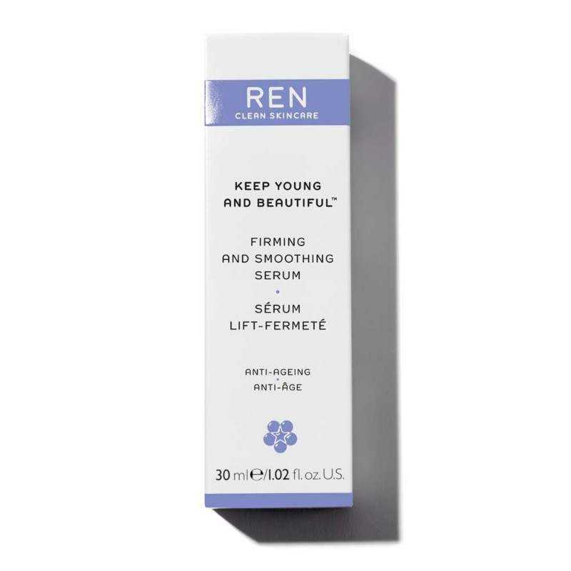 Da Lão Hóa REN Tinh Chất Chống Lão Hóa Keep Young And Beautiful™ Firming And Smoothing Serum 30ml