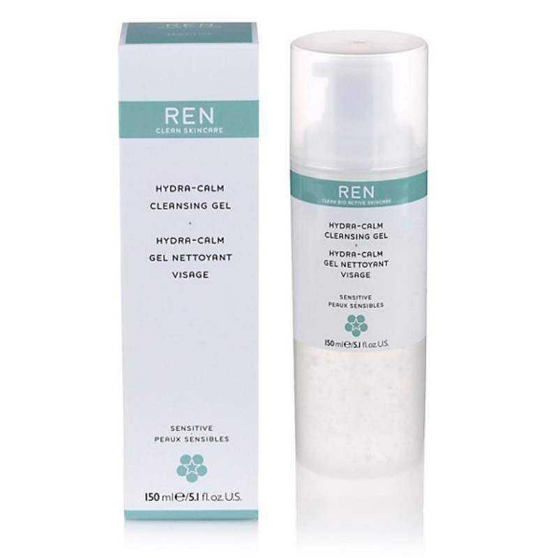 Sensitive Skin REN EverCalm Gentle Cleansing Gel 150ml