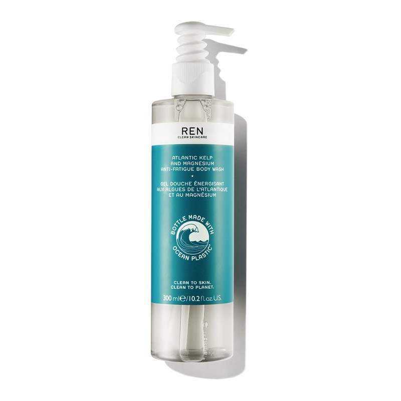 Sữa Tắm REN Gel Tắm Tảo Bẹ & Muối Magie Atlantic Kelp & Magnesium Anti-Fatigue Body Wash 300ml