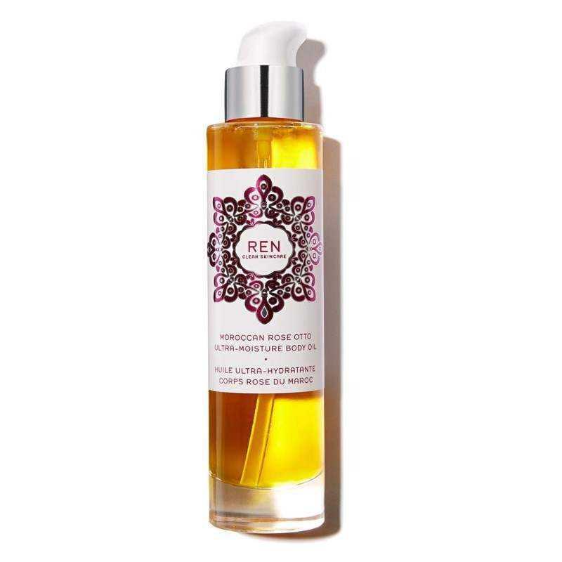 Body Oil REN Moroccan Rose Otto Ultra-Moisture Body Oil 100ml