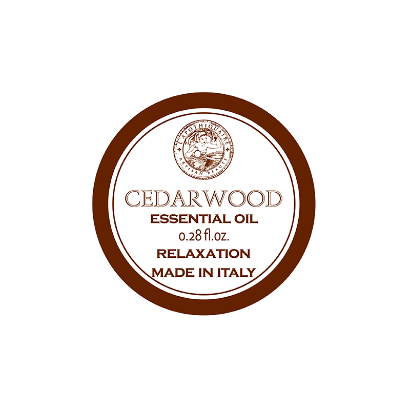 Organic Essential Oil L'Apothiquaire Artisan Beaute Cedarwood Essential Oil 10ml