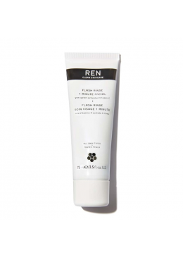 Natural Skin Care REN Flash Rinse 1 Minute Facial with Water Activated Vitamin C 75ml