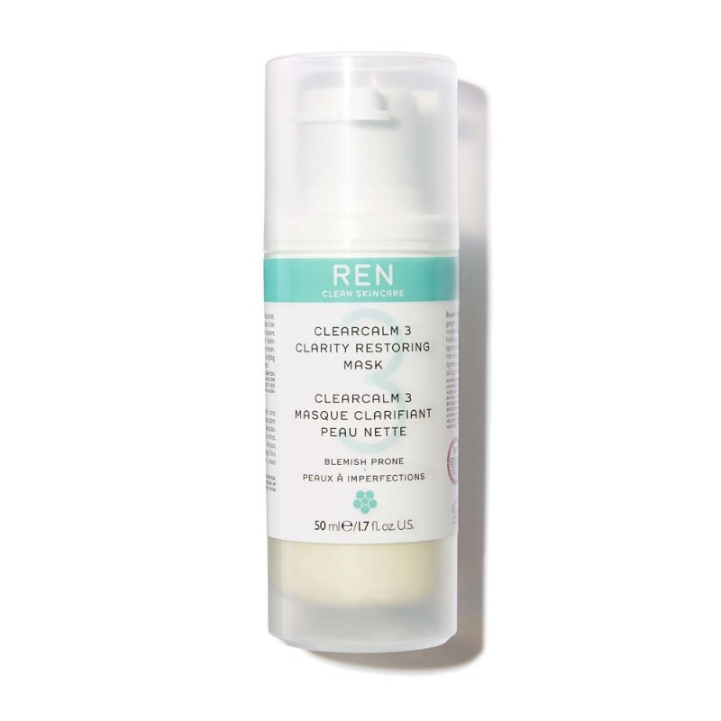 Anti Acne REN ClearCalm3 Clarity Restoring Mask 50ml