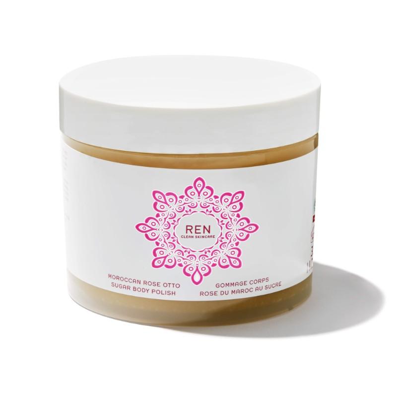 Tẩy Tế Bào Chết REN Tẩy Da Chết Moroccan Rose Otto Sugar Body Polish 75ml