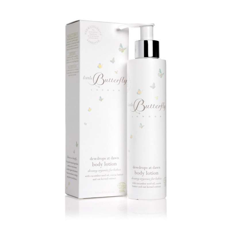 Moisturizer Little Butterfly London Dewdrops At DawnBody Lotion For Baby 200ml