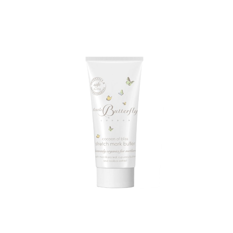 Mom Little Butterfly London Cocoon Of Bliss Stretch Mark Butter For Mother 30ml