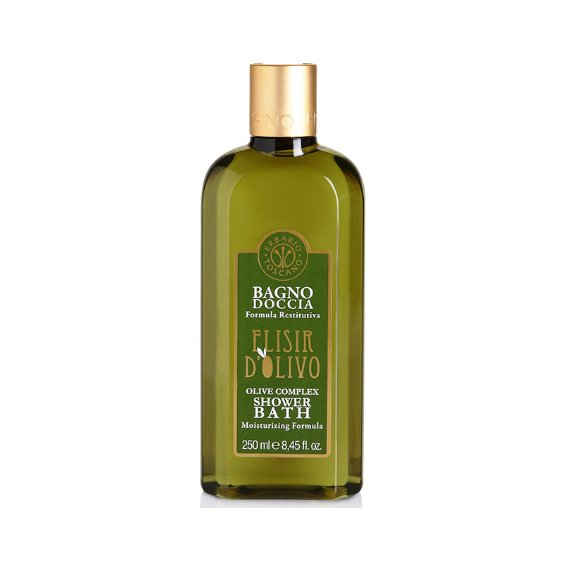 Natural Bath & Body Care Erbario Toscano Shower Bath Elisir D'olivo 250ml