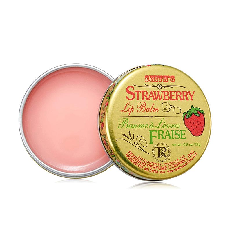 Dưỡng Môi Smith's Rosebud Salve Son Dưỡng Strawberry Lip Balm 22gr