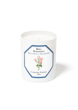 Candle Damask Rose 185gr