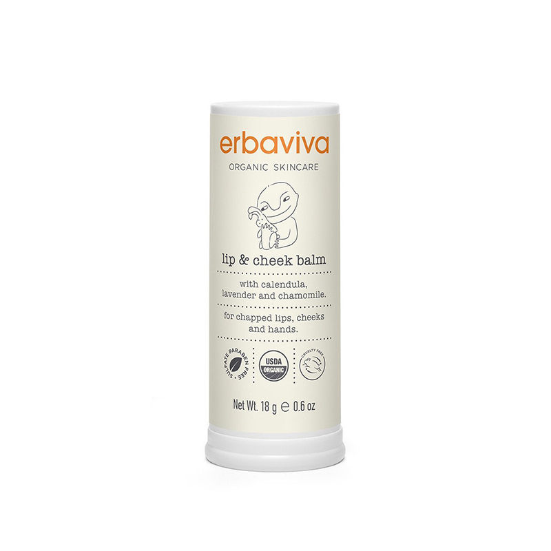 Lip Care Erbaviva Organic Baby Lip & Cheek Balm 18gr