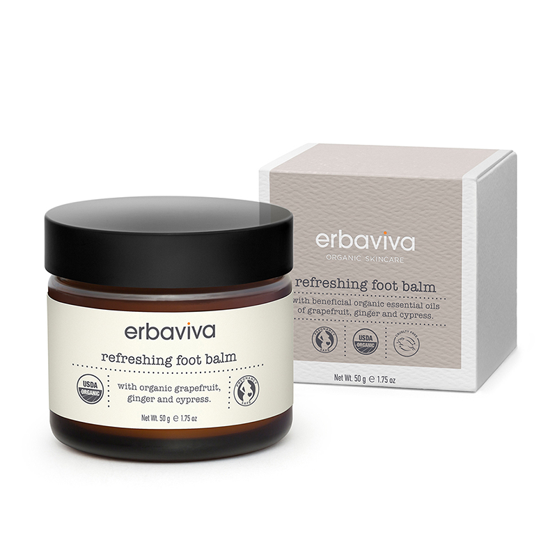Hand & Feet Erbaviva Refreshing Foot Balm 50gr