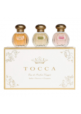 Gift Set Tocca Beauty Eau de parfum Viaggio 3x15ml