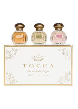 Bộ Quà Tặng  Tocca Beauty Set Nước Hoa 3 Mùi Eau De Parfum Viaggio 3x15ml
